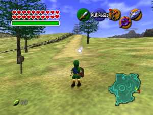 Hyrule Field seems bare now, but upon first playing it, it was simply amazing.